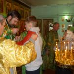 Престольный праздник: Причастие святых Христовых тайн