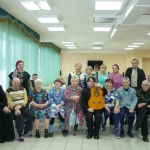 Социальная работа прихода: Интернат для инвалидов. Концерт талантливого молодого музыканта Михаила Зеленина для проживающих