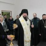 Освящение воскресной школы епископом Питиримом