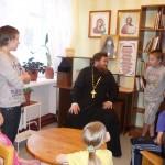 Социальная работа прихода: Дом детства. Очередная встреча с воспитанниками настоятеля храма прт. Иоанна