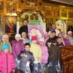 """Детский сад """"Березка"""" в гостях у батюшки в Пасхальную Седмицу"""