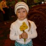 цветы для батюшки от маленькой прихожанки