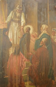 """2016 год икона """"Ведение во храм Пресвятой Богородицы"""""""