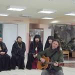 небольшой концерт  для инвалидов. Селиванов Андрей г. Москва
