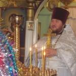 проповедь  настоятеля  протоиерея Иоанна  на праздничной Рождественской службе